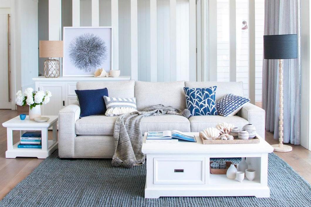 Coastal lounge room